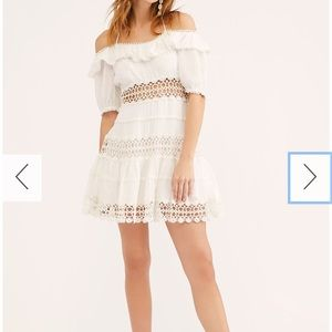 Free People Mixed Emotions Off the Shoulder Dress